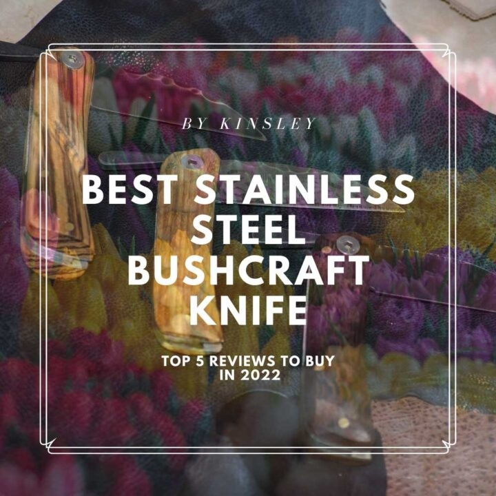 Best Stainless Steel Bushcraft Knife - Reviews & Guide